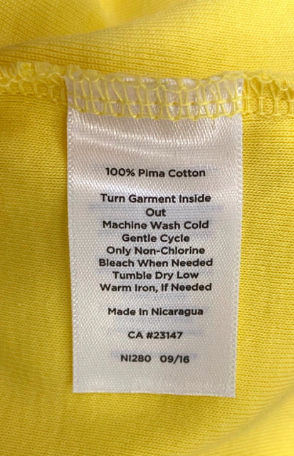 TALBOTS Yellow womens top - wearhouseconsignment