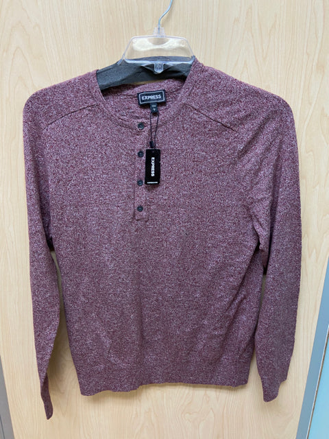 EXPRESS MAROON TOP LARGE