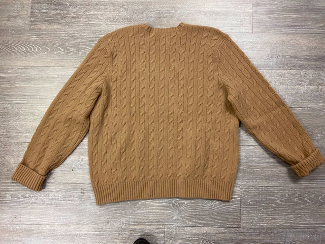 RALPH LAUREN CABLE KNIT WOOL SWEATER SIZE XXL - wearhouseconsignment