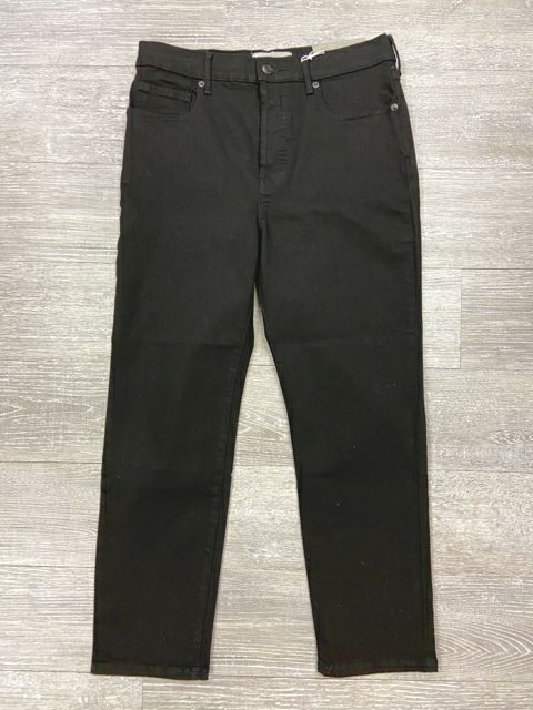 NEW! EVERLANE HIGH RISE BLACK ANKLE JEAN 31