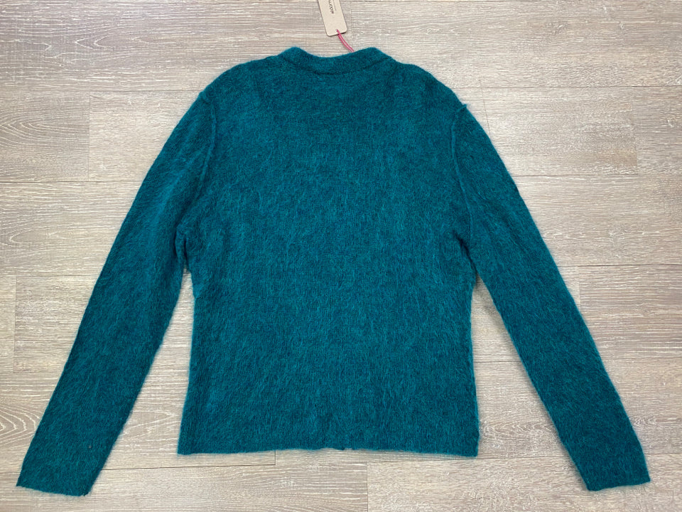 NWT ALDOMARTINS ARAD MOHAIR BLEND SWEATER JACKET SIZE 14