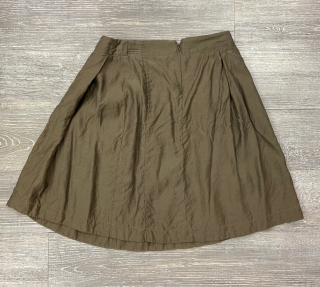 GARY GRAHAM COTTON SILK TWILL SKIRT SIZE 2