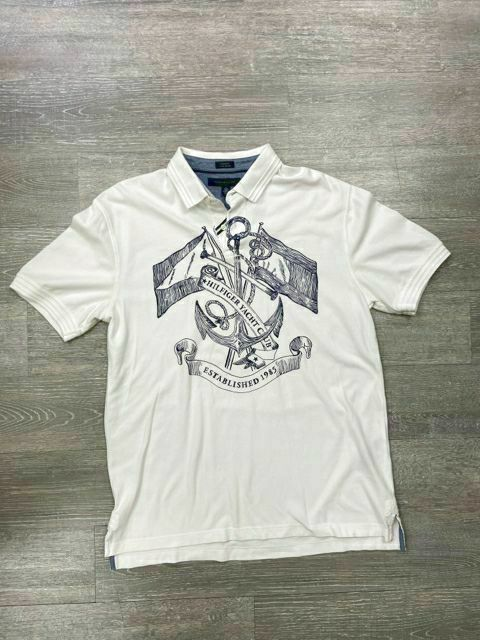 TOMMY HILFIGER GRAPHIC POLO X-LARGE