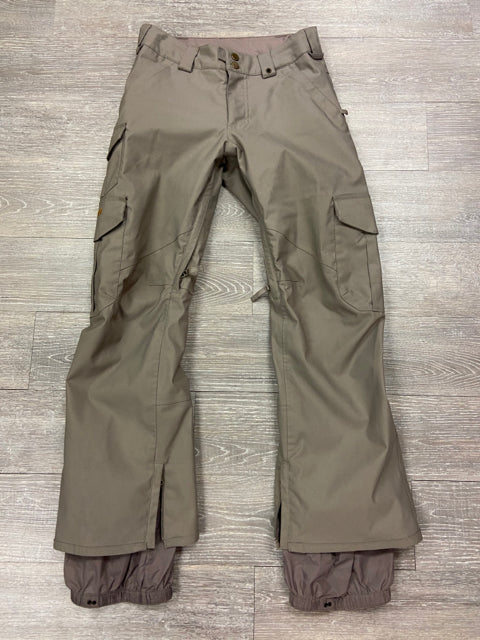 BURTON KHAKI PANTS X-SMALL