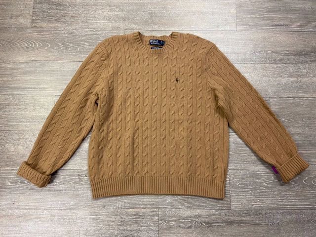 RALPH LAUREN CABLE KNIT WOOL SWEATER SIZE XXL