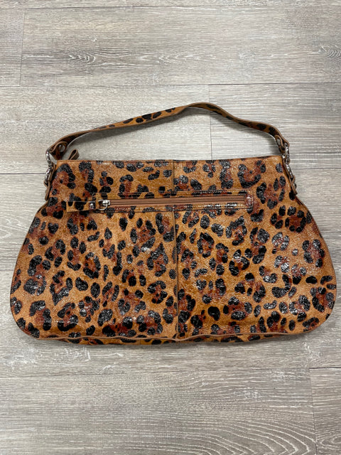 LODIS SHOULDER BAG CHEETAH PRINT