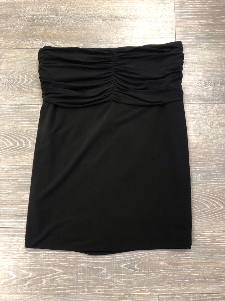 BCBG MAXAZRIA STRAPLESS RUCHED TOP - wearhouseconsignment
