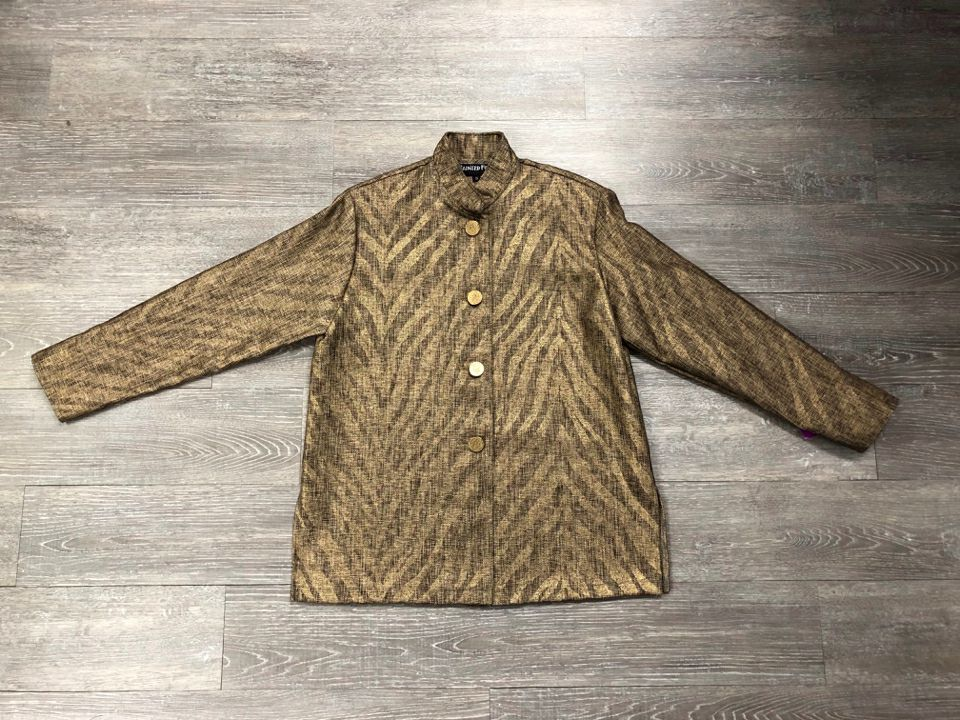 PAINTED PONY METALLIC WOVEN JACKET - wearhouseconsignment