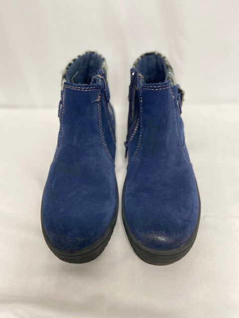 EARTH ORIGINS FELTED ACCENT SUEDE BOOTIES SIZE 5