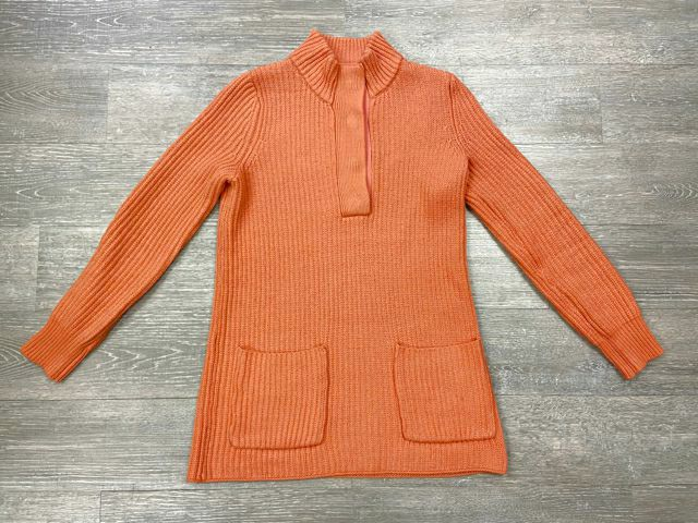 SOFT SURROUNDINGS HIGHLAND SWEATER IN HEATHERED SORBET SIZE XS