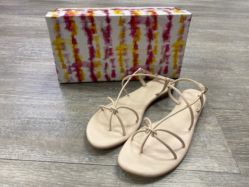 NIB ANTHROPOLOGIE DAYDREAM STRAPPY SANDALS SIZE 7