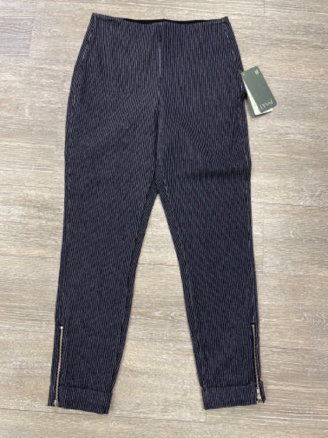 LYSSE DENIM PINSTRIPE JEGGINGS SZ MEDIUM