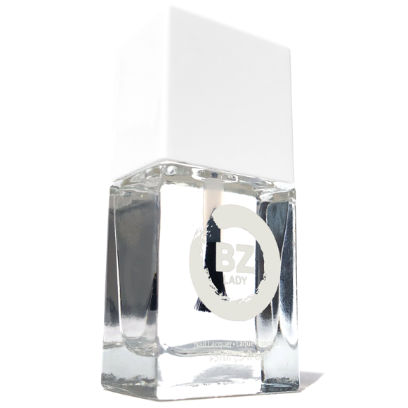 Vernis à ongles végan non-toxique top coat BZ Lady Crystal Xpress