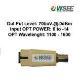 WSEE POWERLESS RF CONVERTER 1WAY FEMALE TYPE