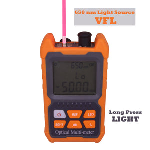MINI Optical Power meter 4 in 1 (OPM+VFL+TORCH+ NETWORK TESTER)