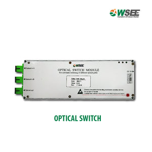 OPTICAL SWITCH  Automatic switching of different optical paths