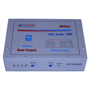 Felder Node Optical Receiver 12 Volt SMPS Dual Output 5 Stage FET Catv Optic RF Digital Converter