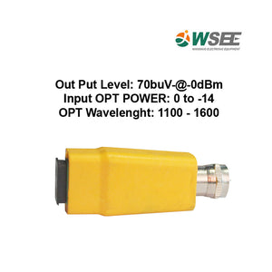 WSEE POWERLESS NODE FTTH 1WAY MALE