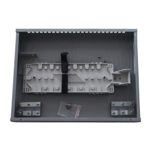 Fiber Optic Patch Panel With 24 Ports