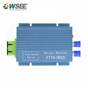 WSEE (WS-OR20) FTTH Optical Receiver triple play network.
