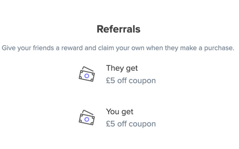 Refer a friend and get a discount coupon