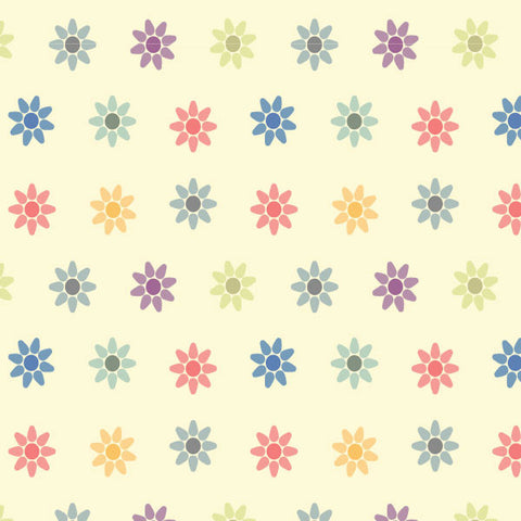 PATTERN - FLOWERS ON WALL