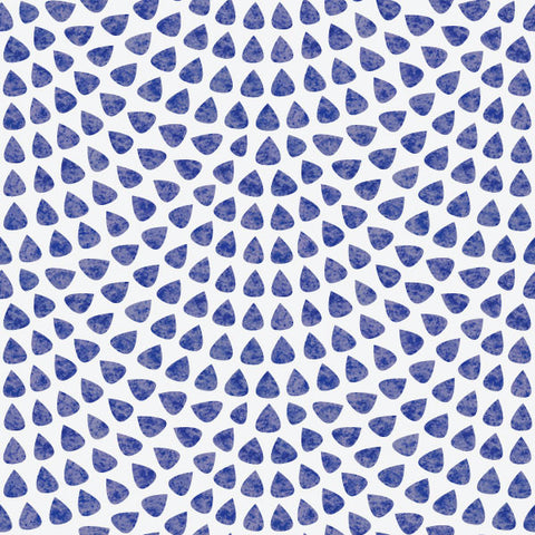 PATTERN - BLUE BUNTING DROPS