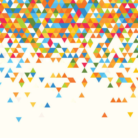 PATTERN - FLUTTERING TRIANGLES