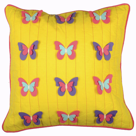 FLY WITH  ME CUSHION COVER