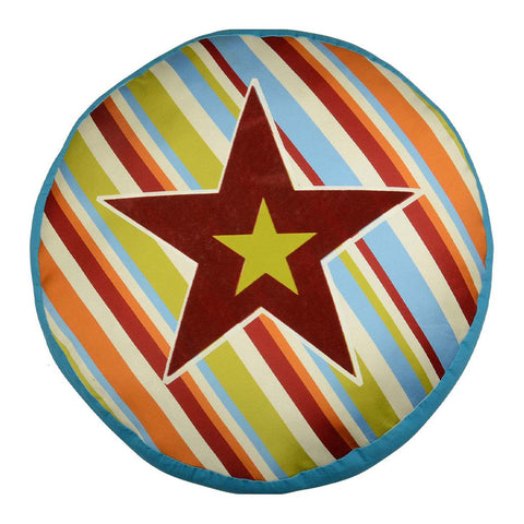 LINE-UP ROUND STAR CUSHION COVER
