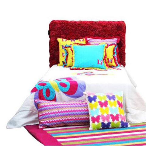 SINGLE FLUTTER BED COVER