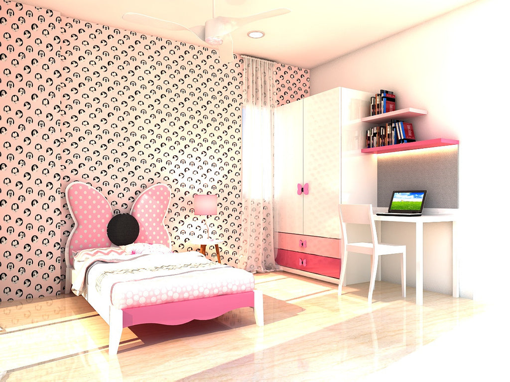 Minnie Mouse Wallpaper For Bedroom Minnie Mouse Themed Room Mylorangecom