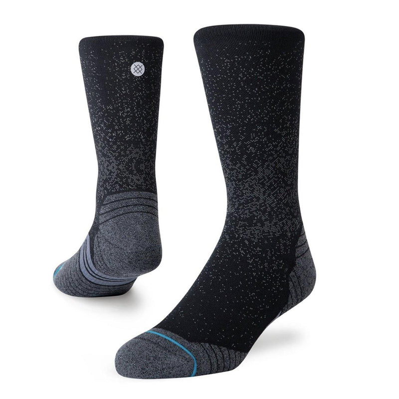 Stance Run Crew ST Unisex Running Socks (Black)