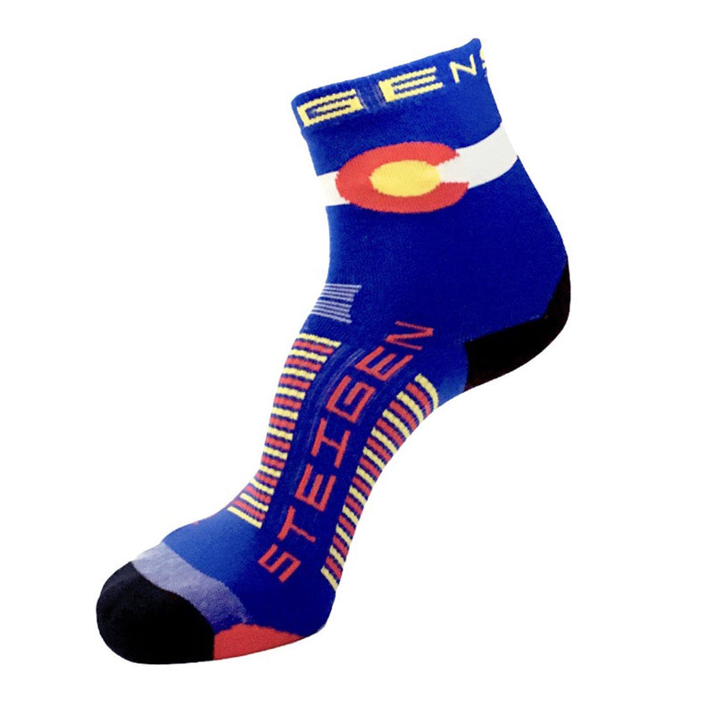 Steigen Running Socks 1/2 Crew - Colorado