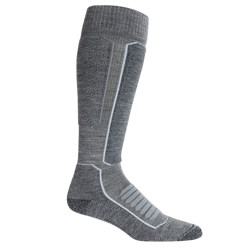 Icebreaker Men's Ski+ Medium Over The Calf (Grey)