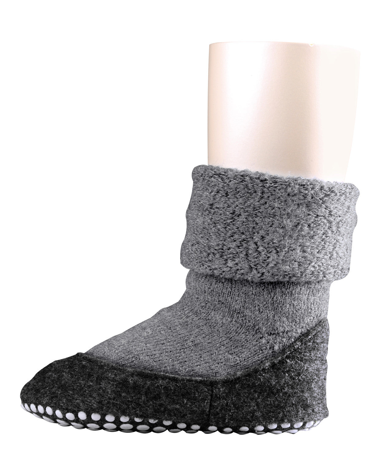 Falke Kids Cosyshoe Slipper Socks - Light Grey