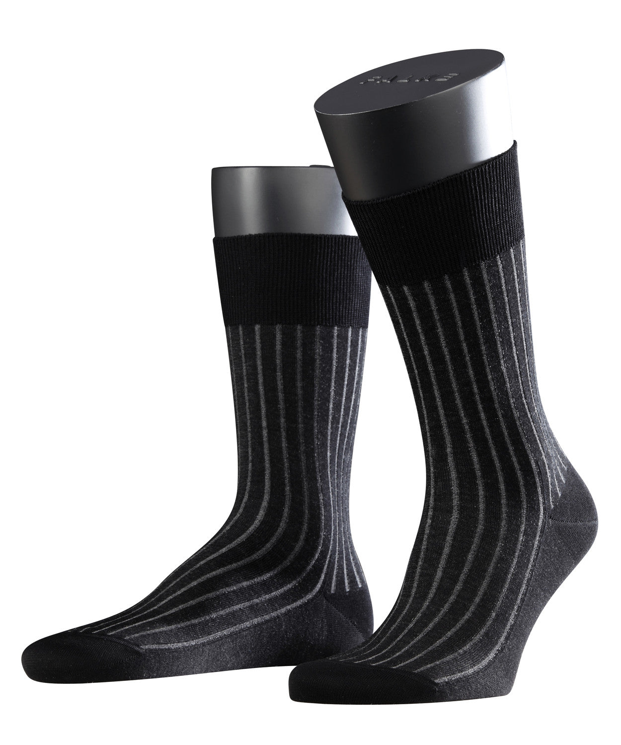 Falke Shadow Mens Socks - Grey/White
