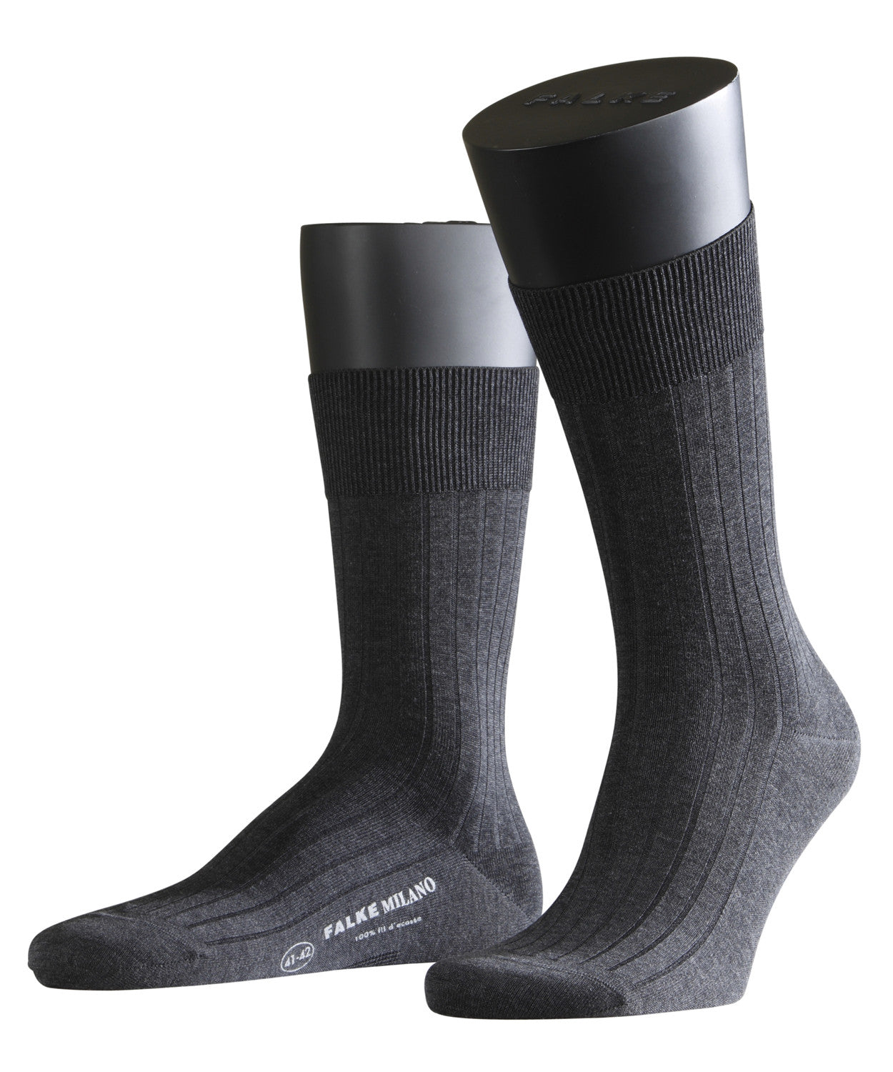Falke Milano Mens Socks - Anthracite