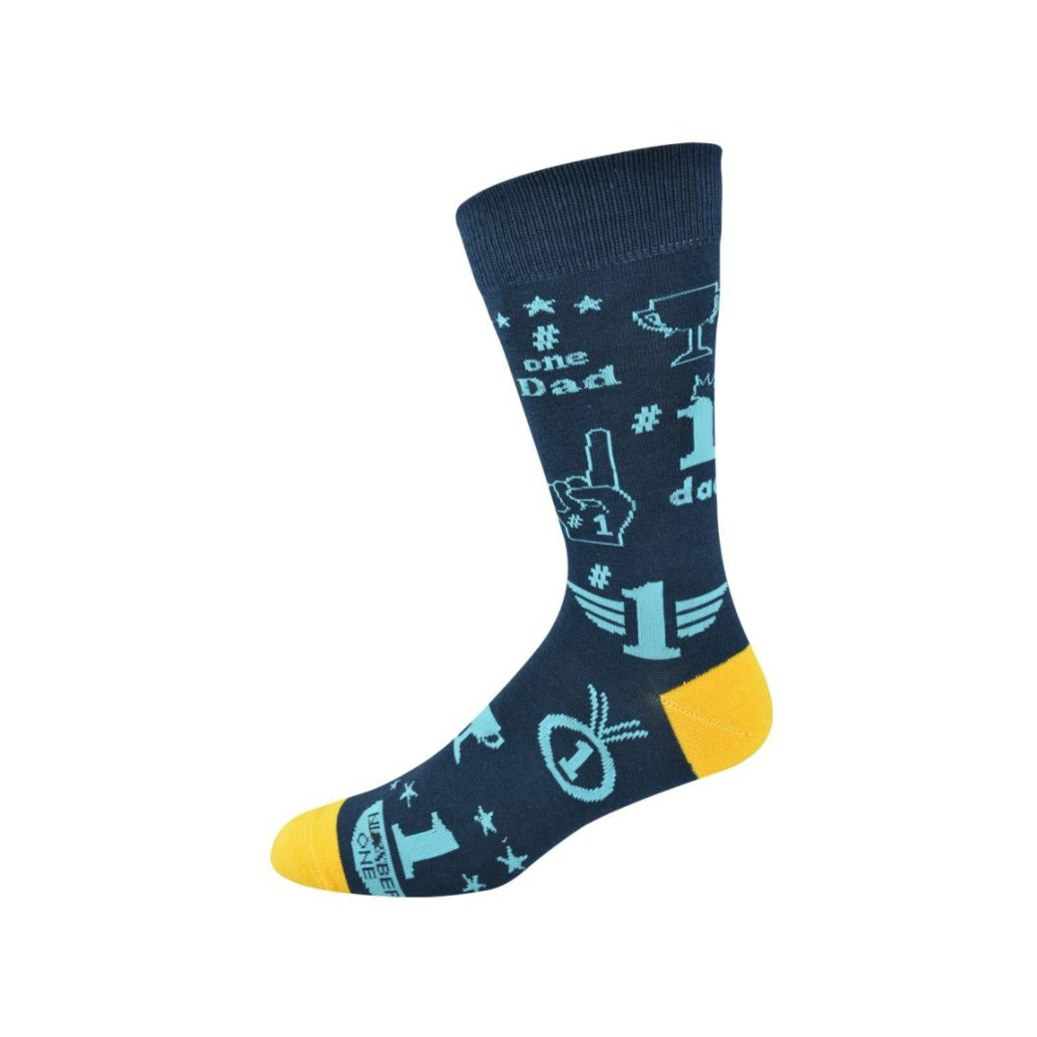 Bamboozld Men's Bamboo Socks - #1 Dad