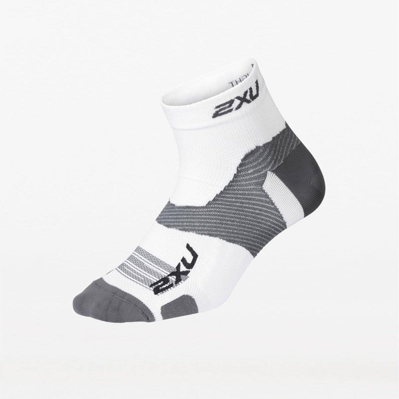 2XU Vectr Ultralight 1/4 Crew Socks - Advanced Plantar Fascia