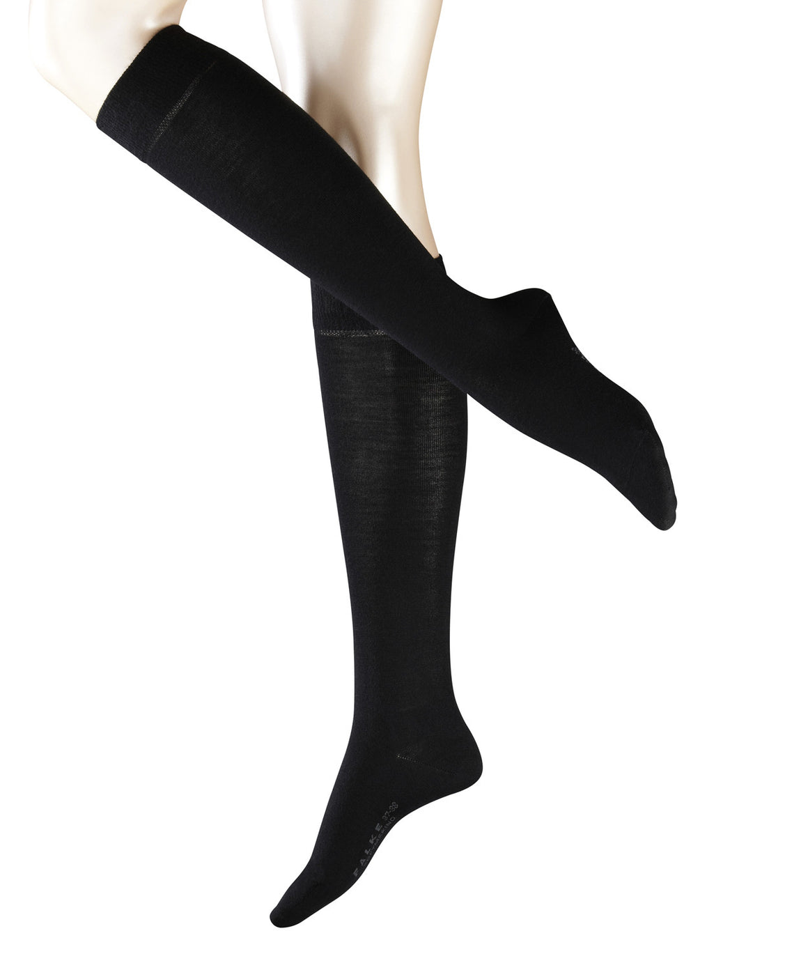 Falke Womens Soft Merino Knee High - Black