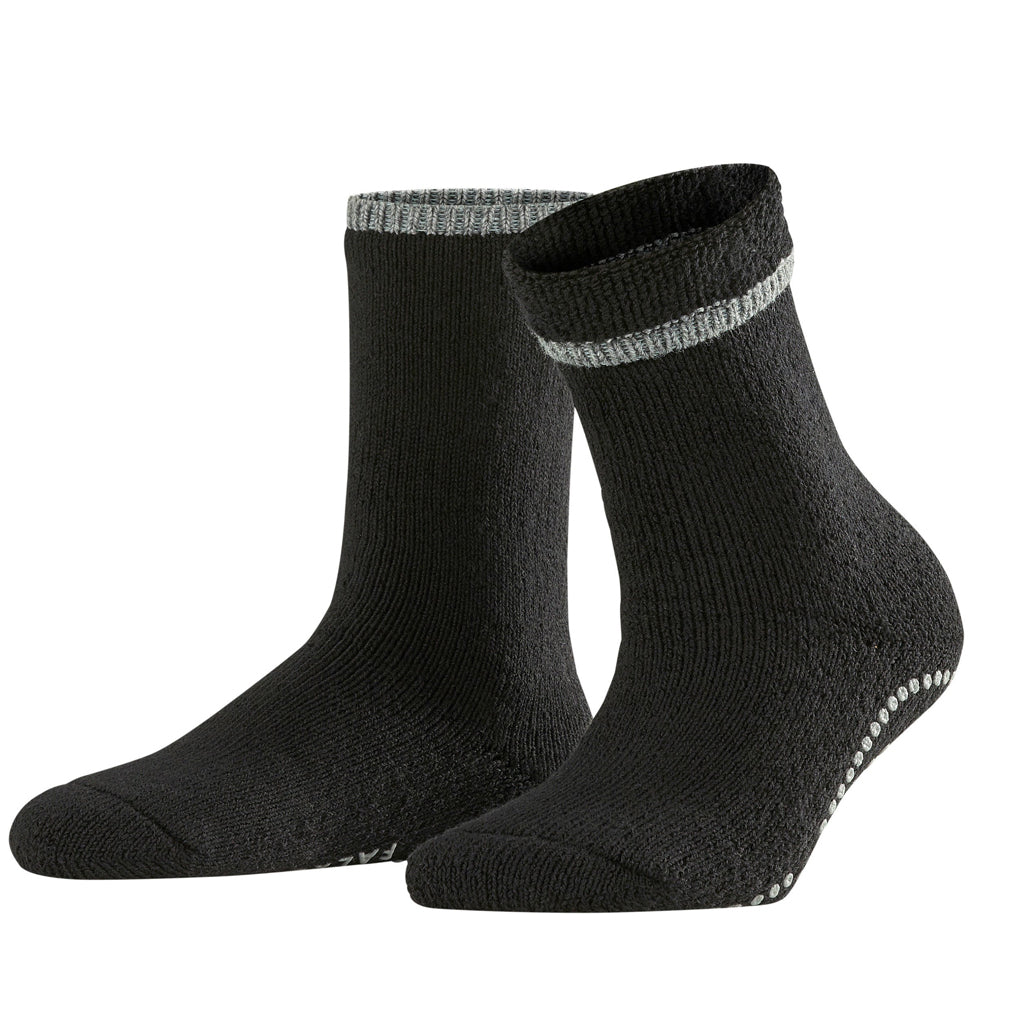 Falke Womens Slipper Socks - Black