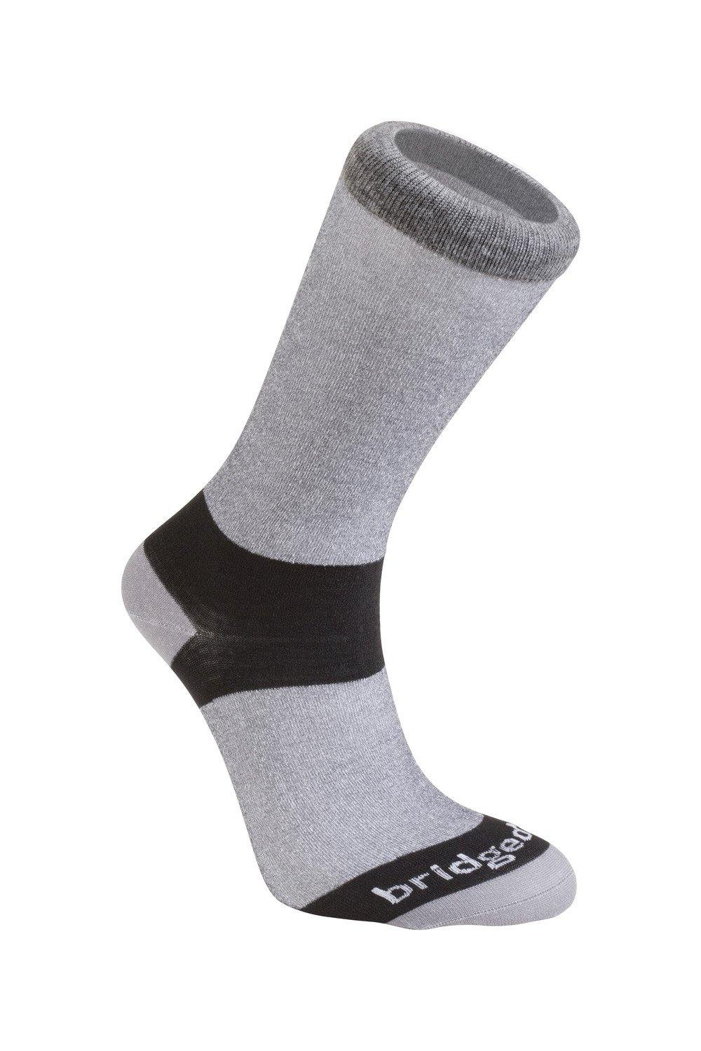 Bridgedale Men's Coolmax Liner 2 pack - Grey