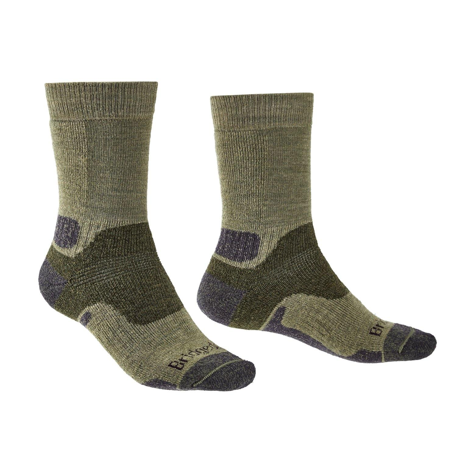 Bridgedale MERINO Performance HIKE Socks (Midweight Green)