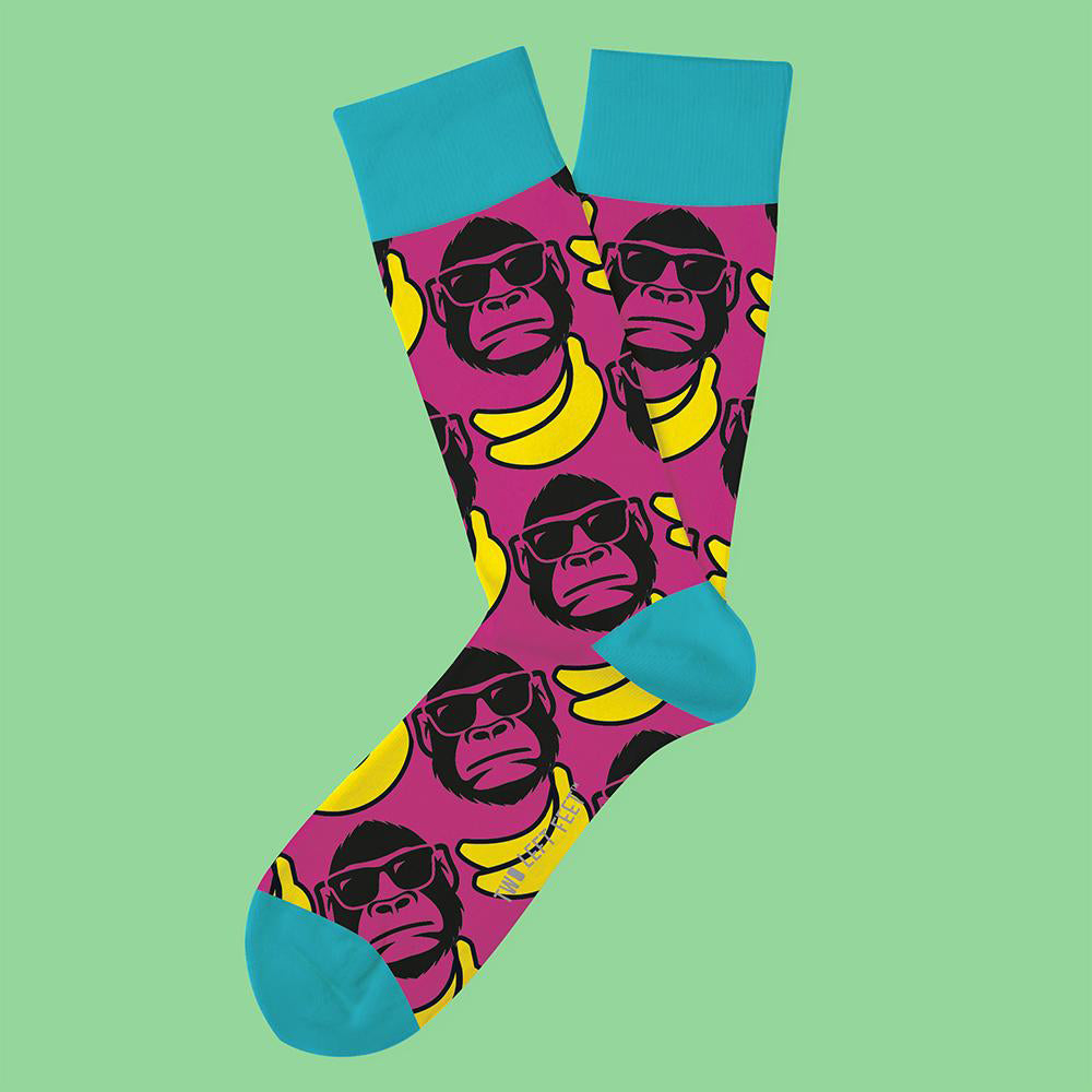 Two Left Feet® Funky Monkey Everyday Socks