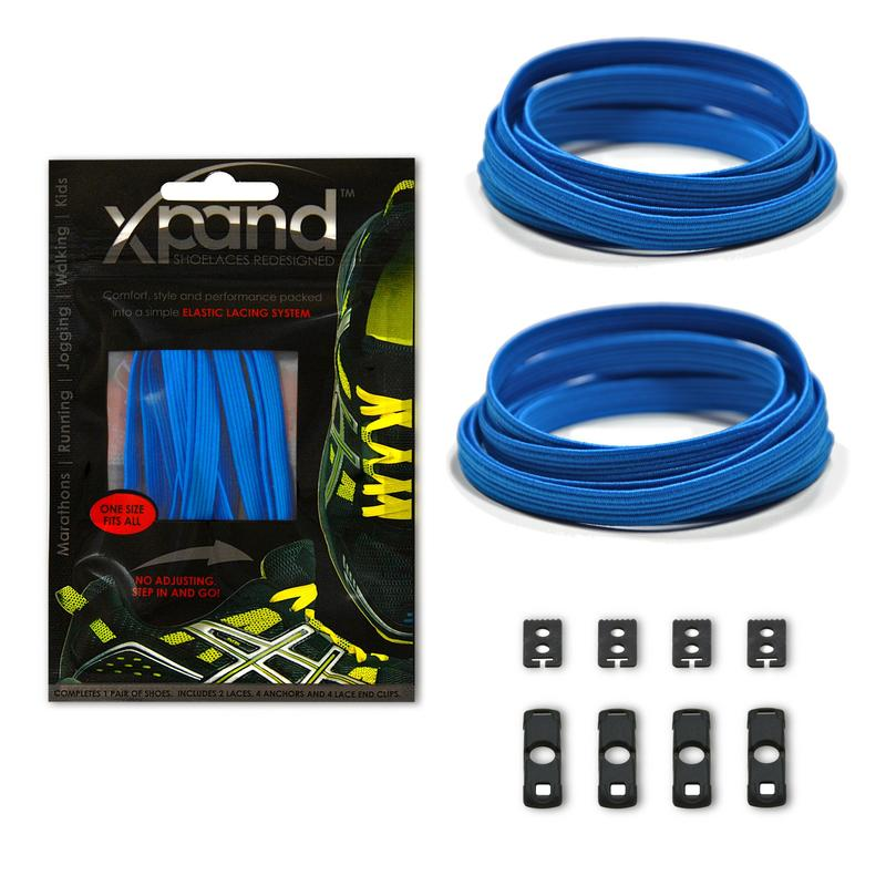 XPand Original No-Tie Shoe Laces (True Blue)