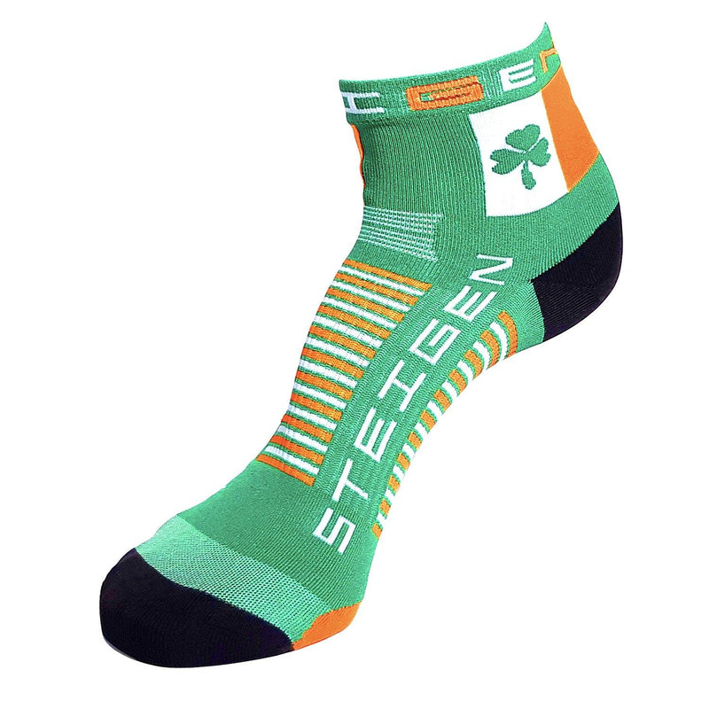 Steigen Running Socks 1/4 Crew - Irish