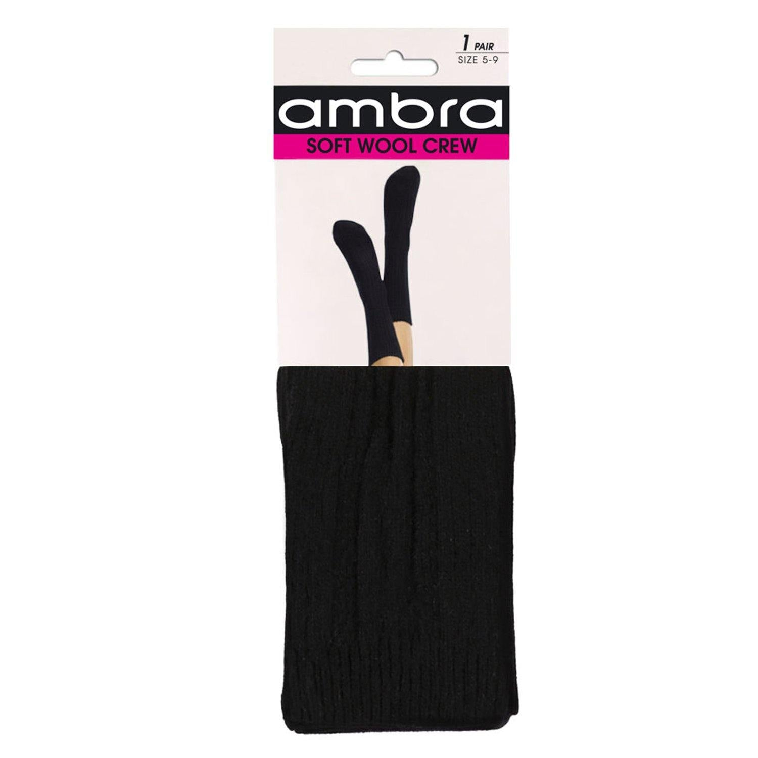Ambra Soft Wool Crew Women's Socks