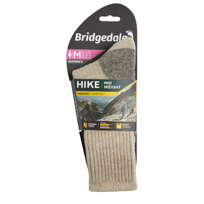 Bridgedale Women's MERINO HIKE Comfort Socks