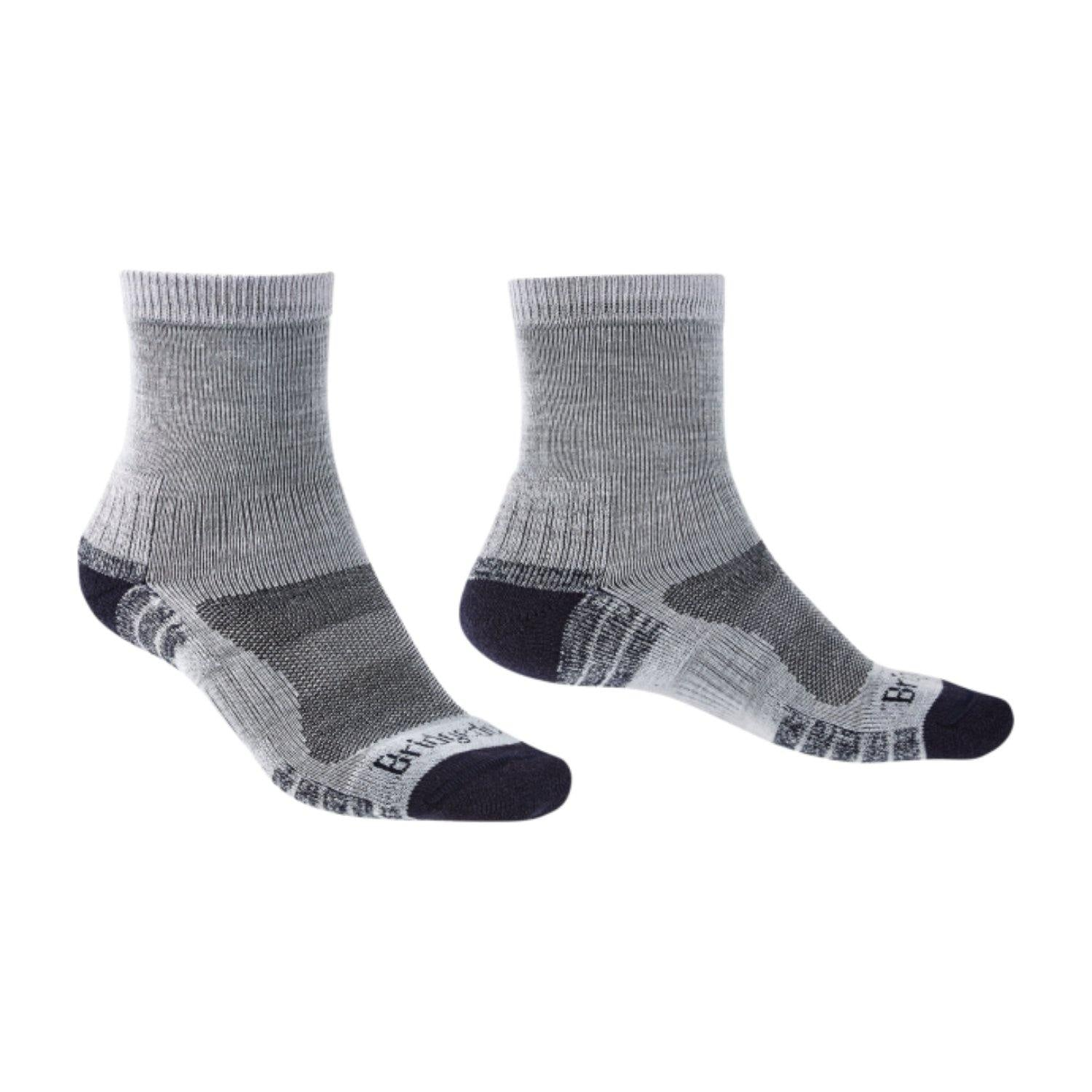 Bridgedale MERINO HIKE Mini-Crew Socks (Lightweight Grey)